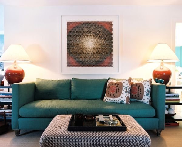Choose The Right Sofa Color For Your Living Room Eclectic Living Room Design Eclectic Living Room Teal Living Rooms