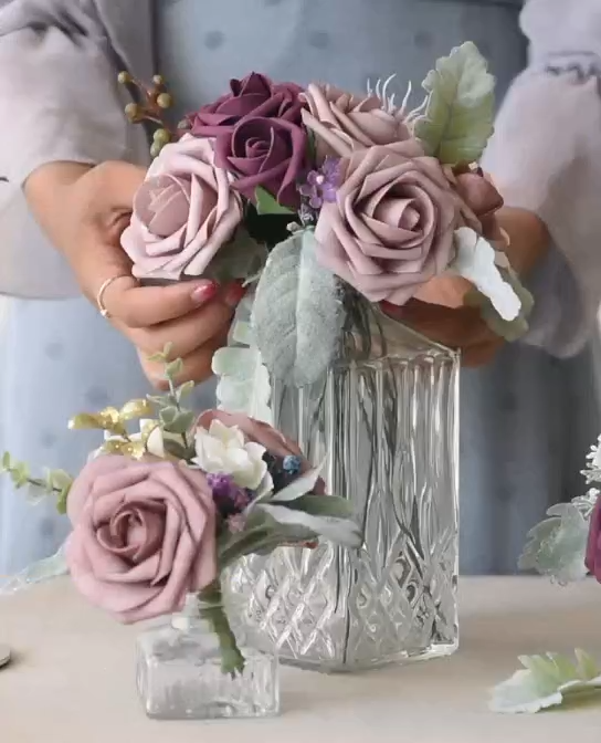 Beautiful for wedding! Find 2019 spring 32 colors artificial roses, 20% Off #paperflowers