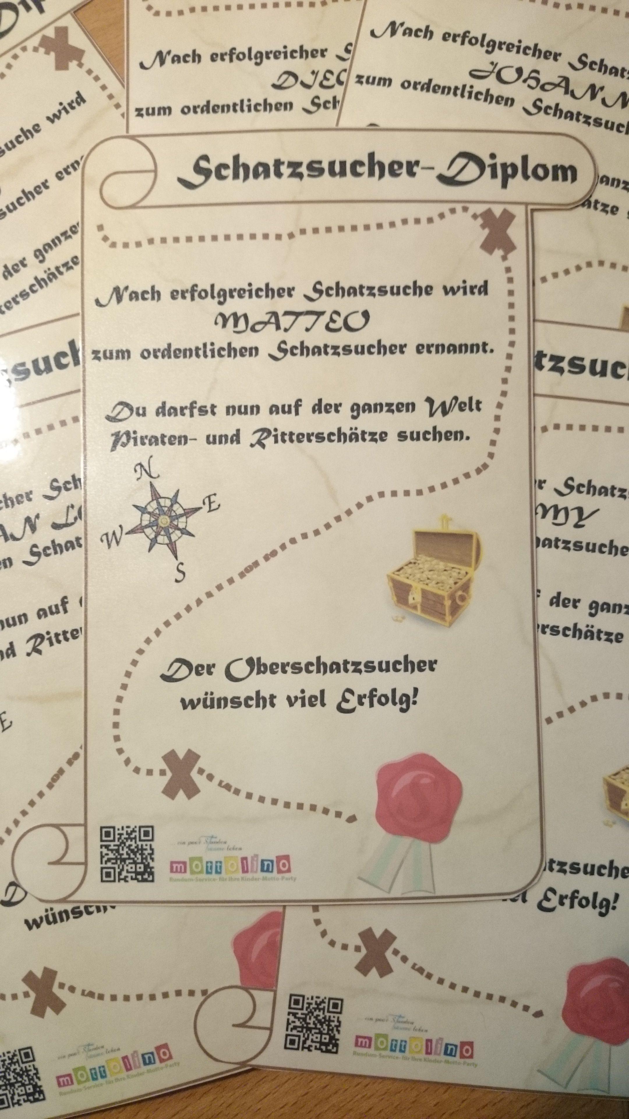 Schatzsucher Urkunde Urkunde Kinder Geburtstag Hotels Fur Kinder
