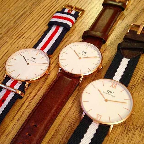 Daniel Wellington Watches - I REALLY want one!!! <3 // The Classic Canterbury, St. Andrews and Grace Glasgow //