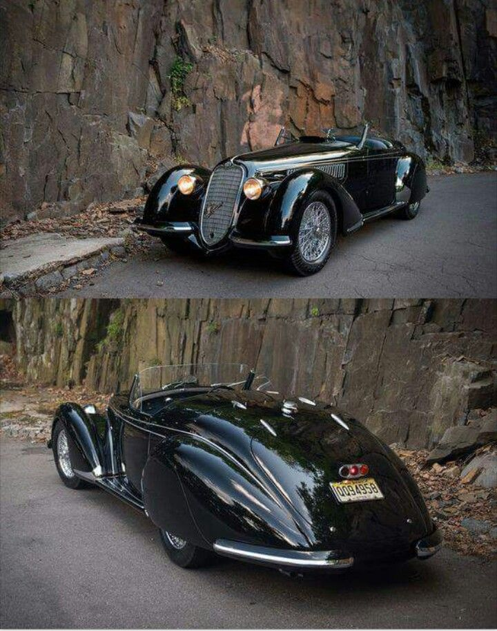 Alfa Romeo 8c 2900b Lungo Spider 1938