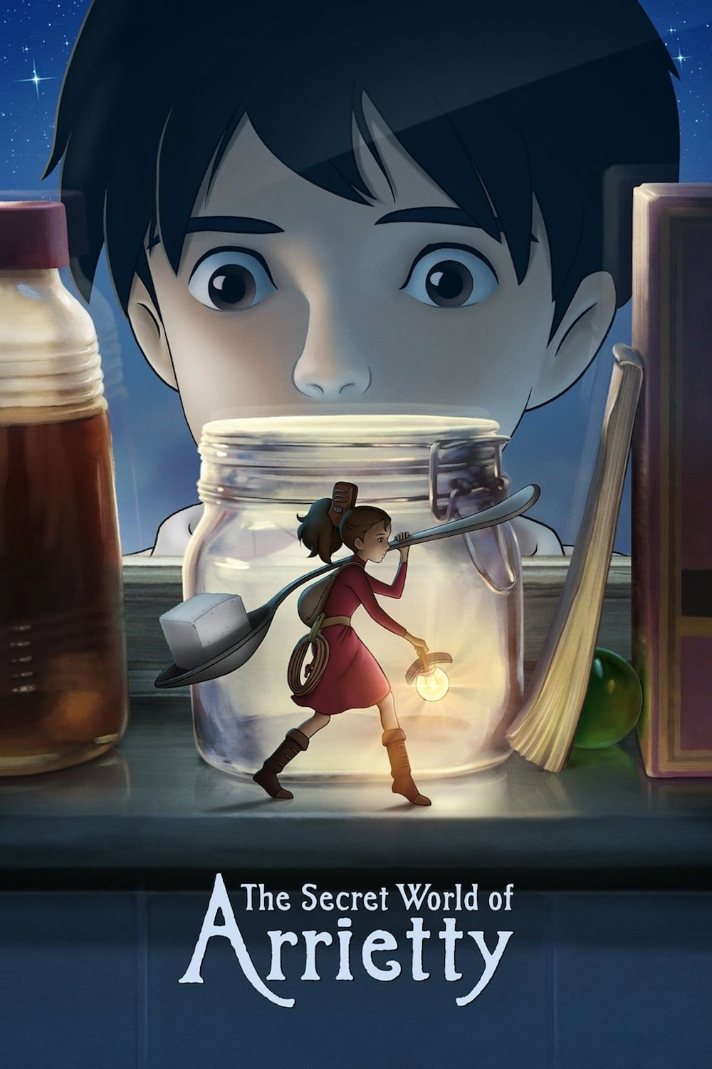 借りぐらしのアリエッティ movie poster poster, bestposter, fullhd