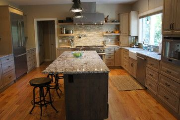 Beau This Showplace, Designed By Riley Kitchen U0026 Bath, Features Our Driftwood  Stain On The