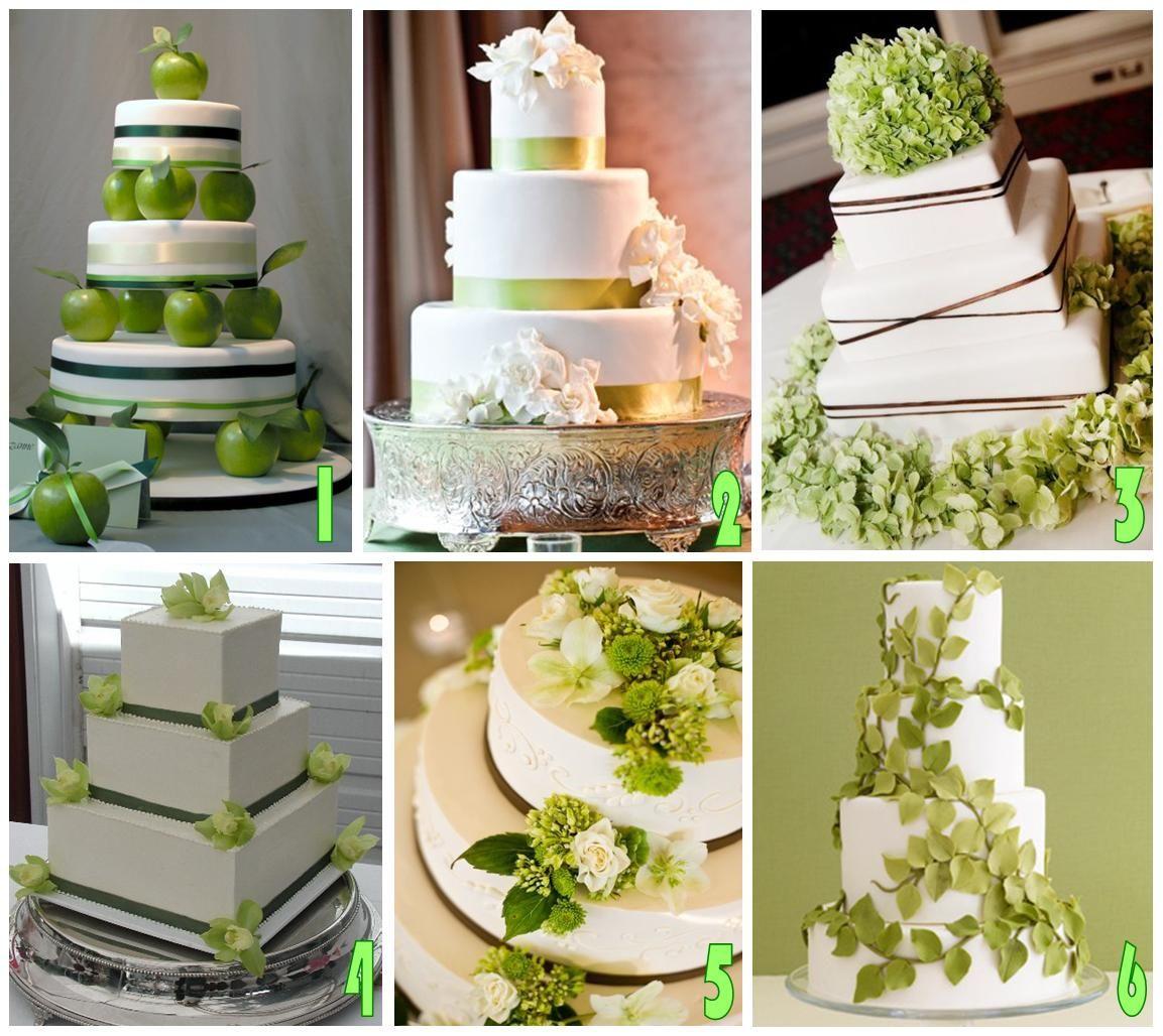 Wedding Theme White And Green: Sweeter Than Sweet Dessert