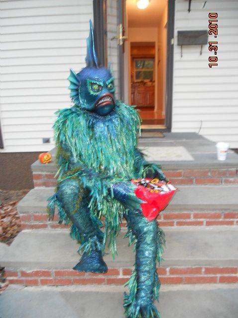 Halloween sea monster costume. & Halloween sea monster costume. | King Neptune and friends ...