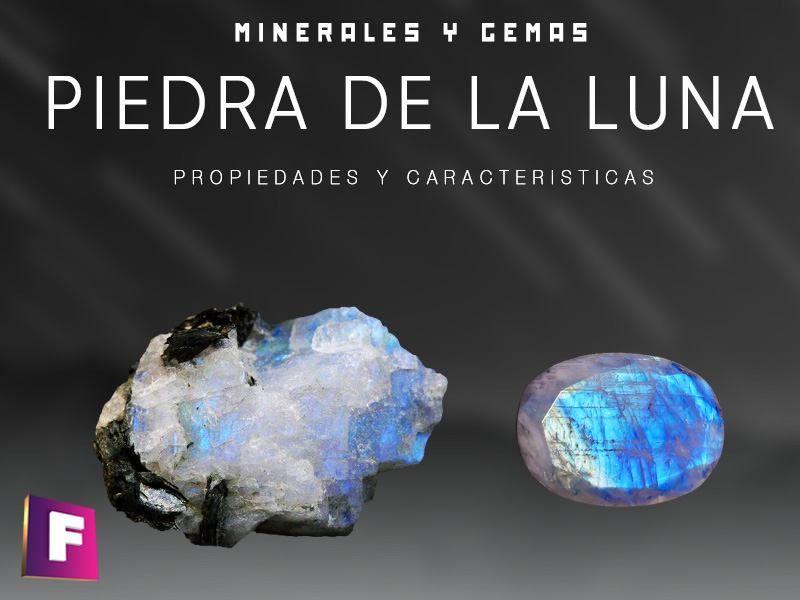 La Piedra De La Luna O Piedra Luna Es Una Variedad De Feldespato Potasico Con Una Caracteristica Particular Es Opalescen Piedra De Luna Uñas Con Piedras Luna