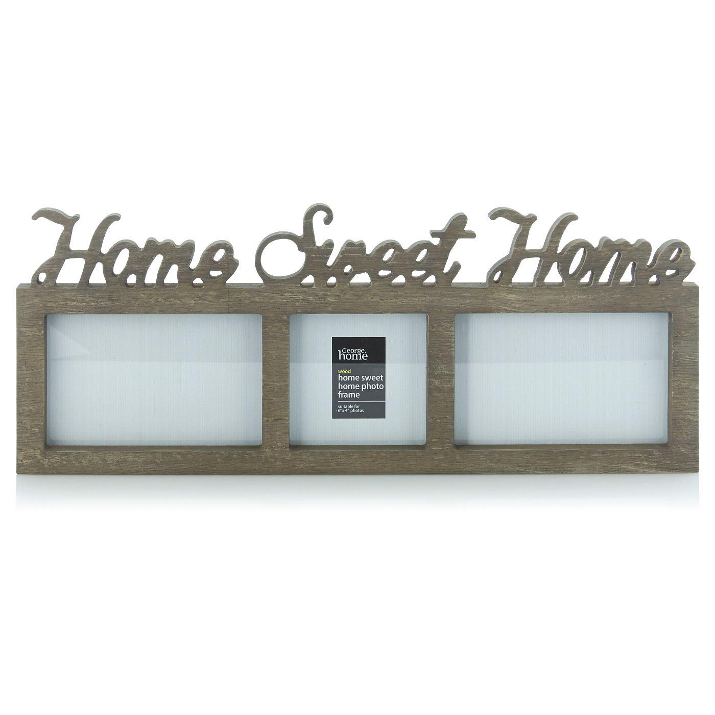george home 39 home sweet home 39 photo frame frames. Black Bedroom Furniture Sets. Home Design Ideas