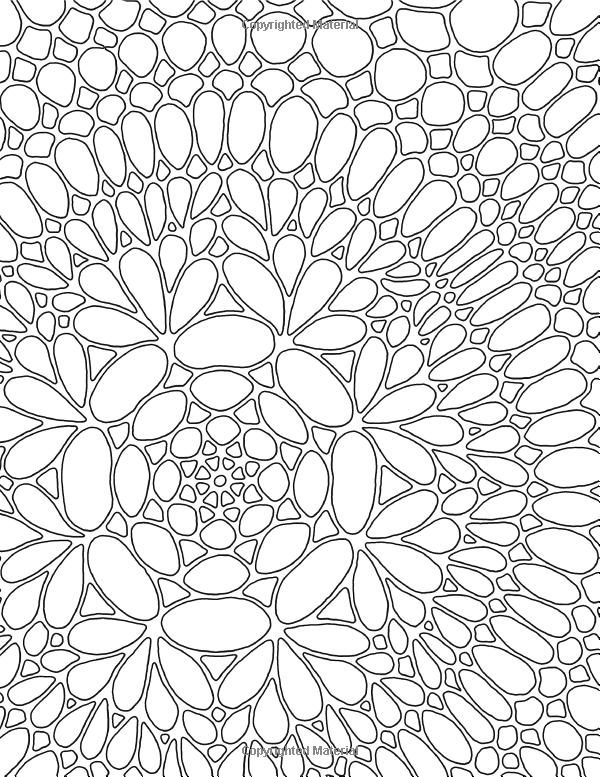 Abstract Adventure VII A Kaleidoscopia Coloring Book Organiscopic