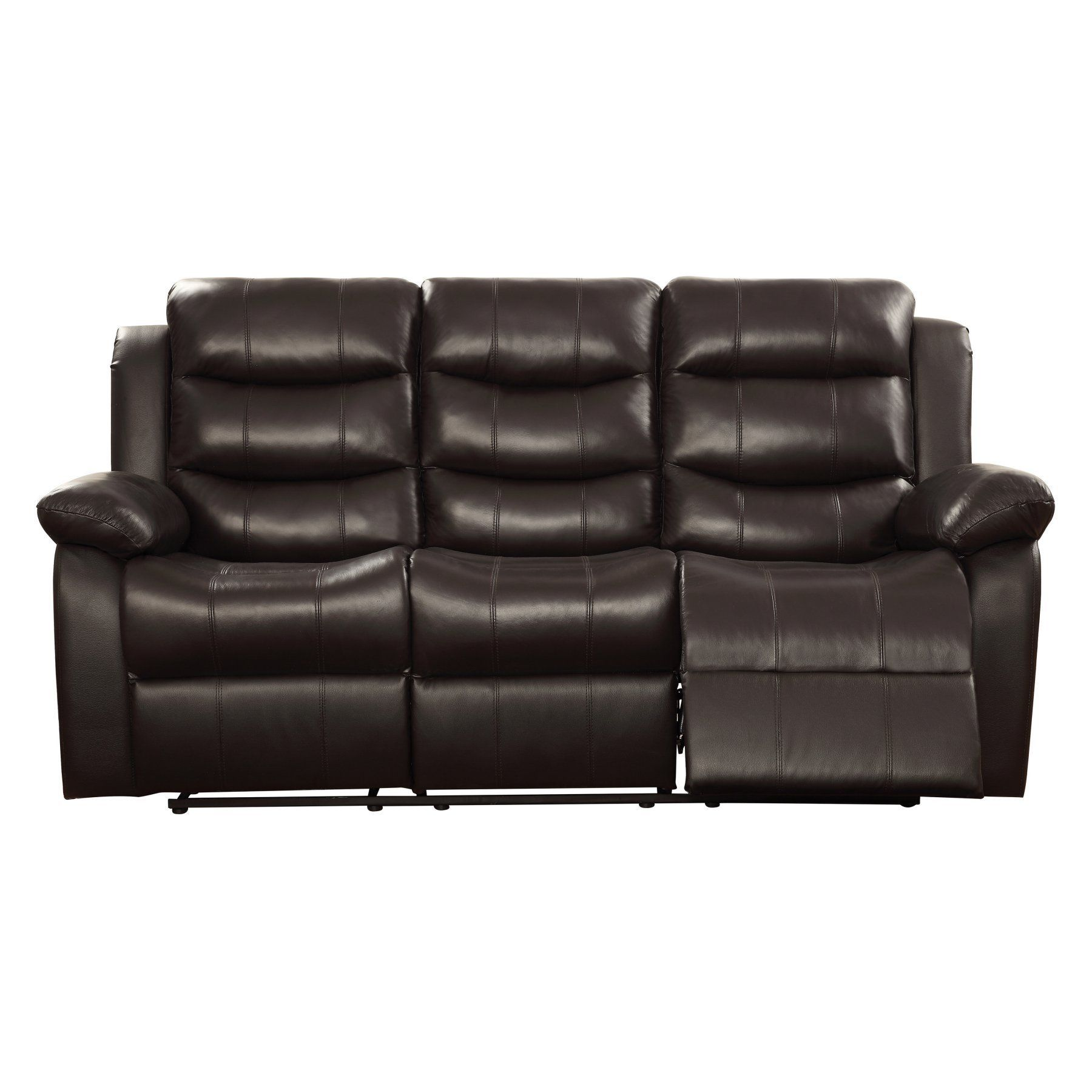 Best Coaster Furniture Rodman Leather Reclining Sofa 602221 400 x 300