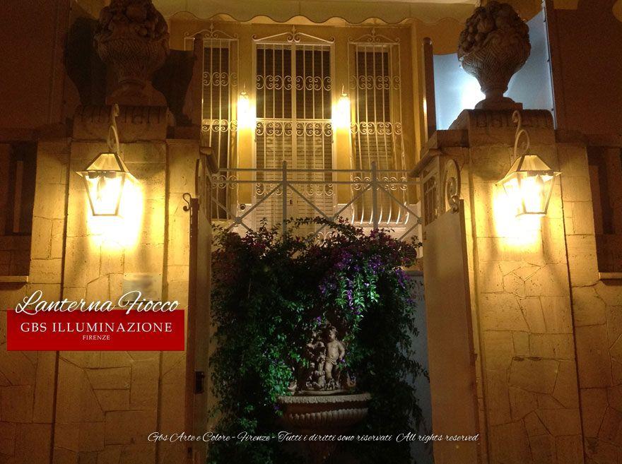 Fiocco u2013 lanterna da parete illuminazione lightings wall
