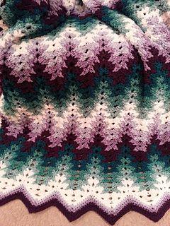 Photo of Oma hat meine Ripple-Decke mit Stacheln versehen