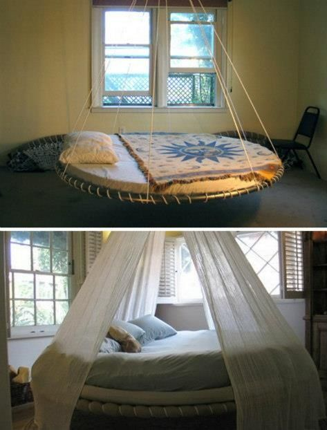 How To Make A Floating Bed Diy Home Project Floating Bed Diy