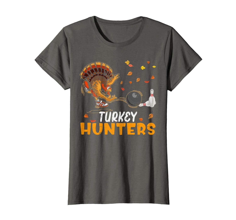 Funny bowling thanksgiving turkey day gift turkey hunters