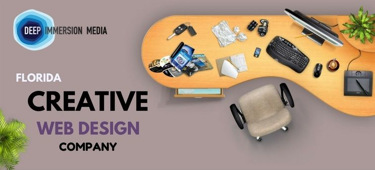 Creative Web Design Company Florida Deep Immersion Media Web Design Company Creative Web Design Web Design