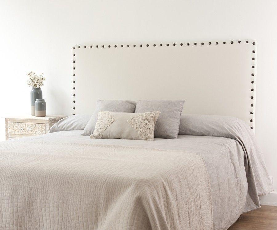 Soft cabecero tapizado ecopiel dormitorio pinterest - Cabeceros acolchados cama ...