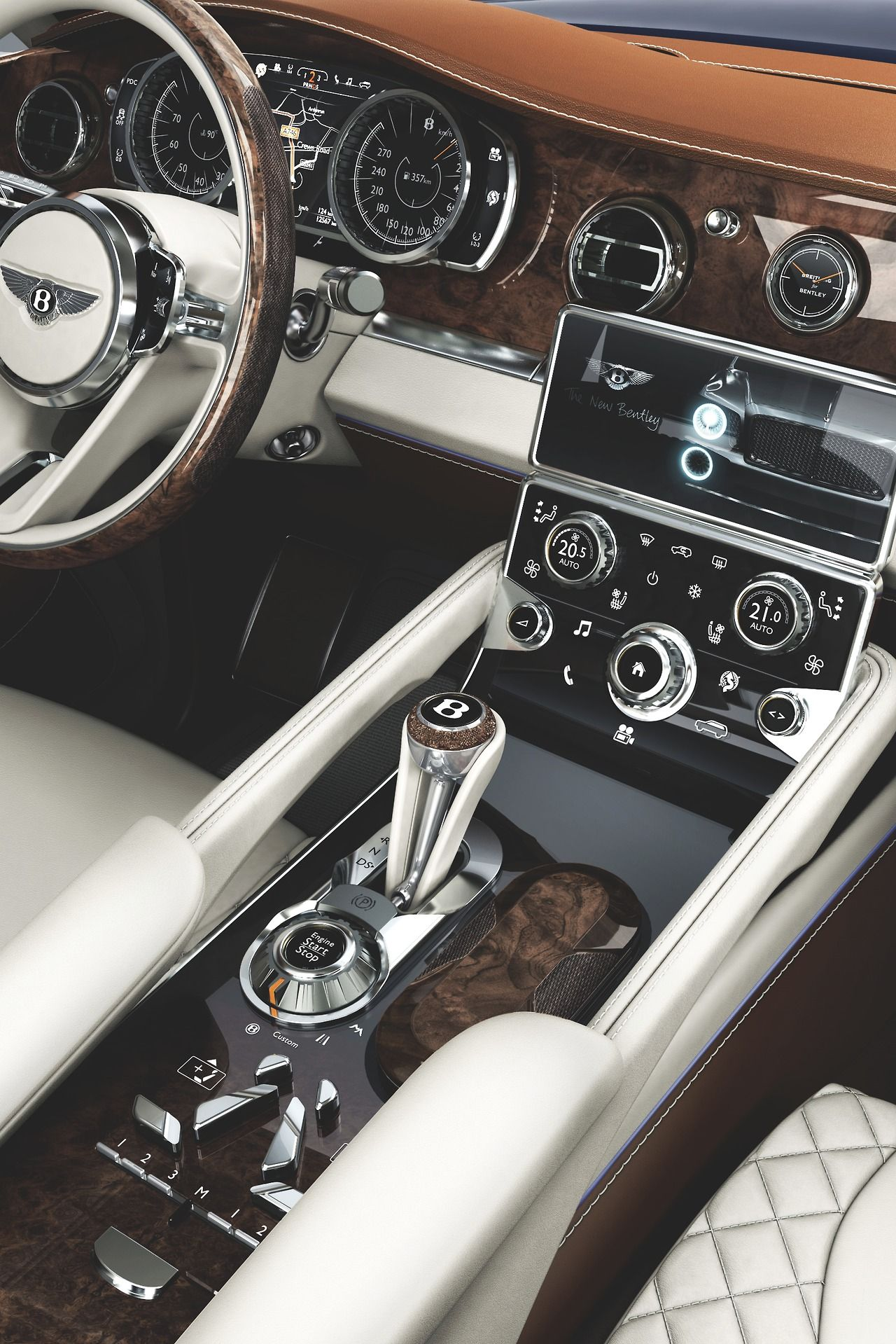 Bentley Exp9f This Is Undoubtedly The Most Beautiful Interior