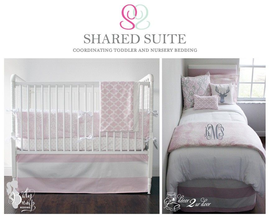 Sibling Shared Suite Bedding Collection Coordinating Crib Twin
