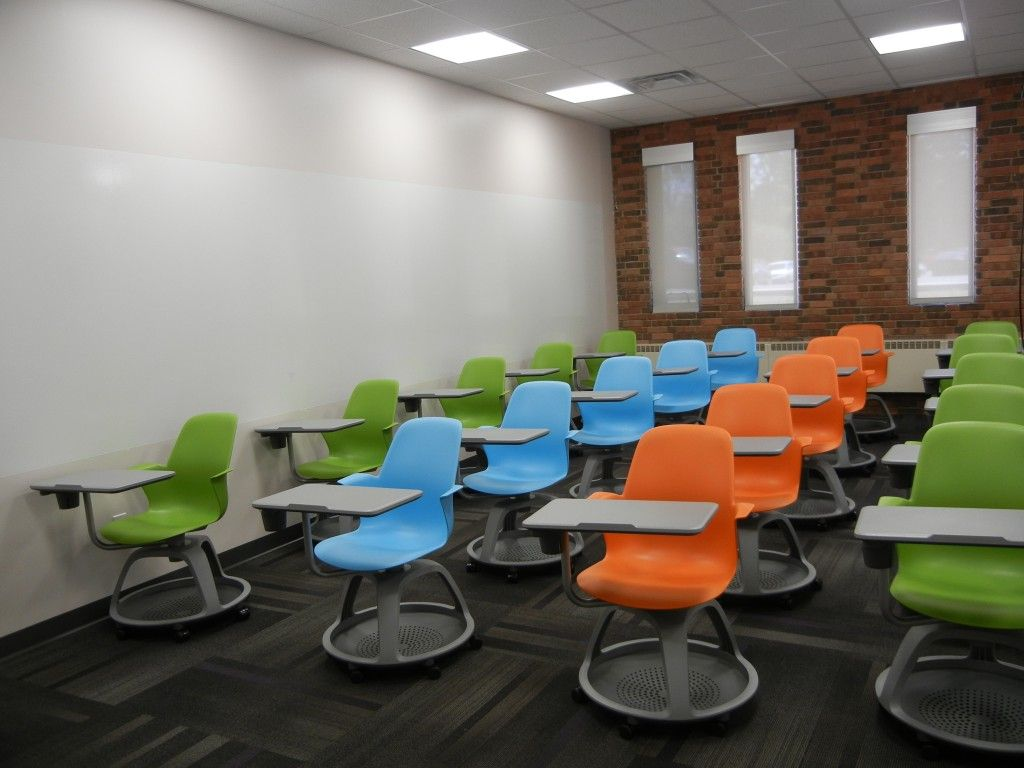 Modern University Classroom Design : I ve used these chairs before some of would be
