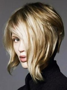 We Have Some Best Ideas For Hairstyles Short In Back Longer In Front For You When You Select Any Haircut You Medium Hair Styles Short Hair Styles Hair Styles