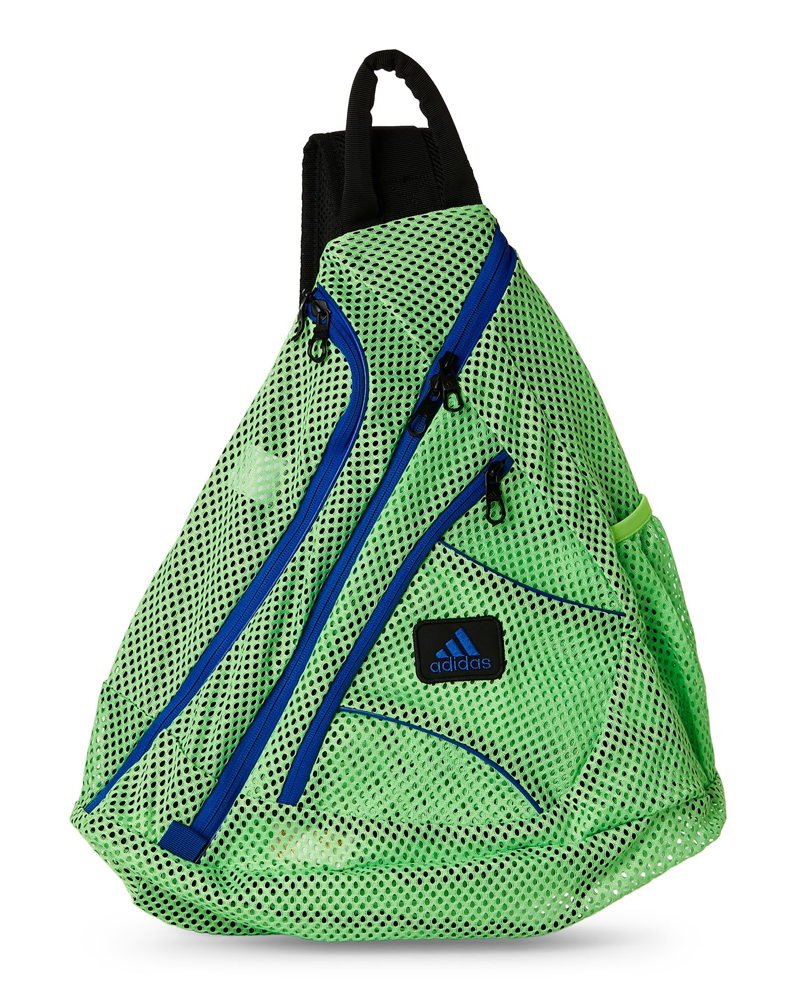 9f3513ccd5f2 Adidas Green   Blue Vista Mesh Sling Backpack