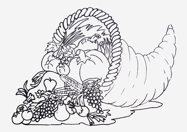 Free Printable Coloring Sheets for Thanksgiving ...