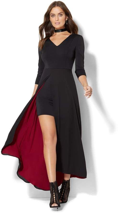 28764aa994f Colorblock Maxi Dress