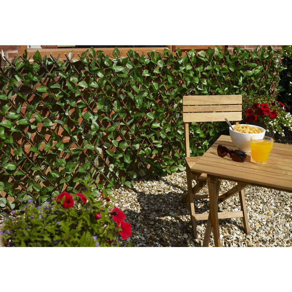 Marvelous Wilko Expanding Trellis Is Perfect For Screening Off Sections Of Your Garden  Or Covering Up Unsightly Walls. It Comes With Artificial Leaf Detailing, ...