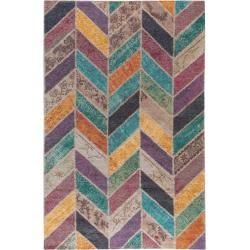 benuta Classic Flachgewebeteppich Stay Multicolor 230x340 cm - Vintage Teppich im Used-Lookbenuta.de