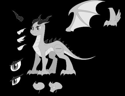 Dragon Wings Template