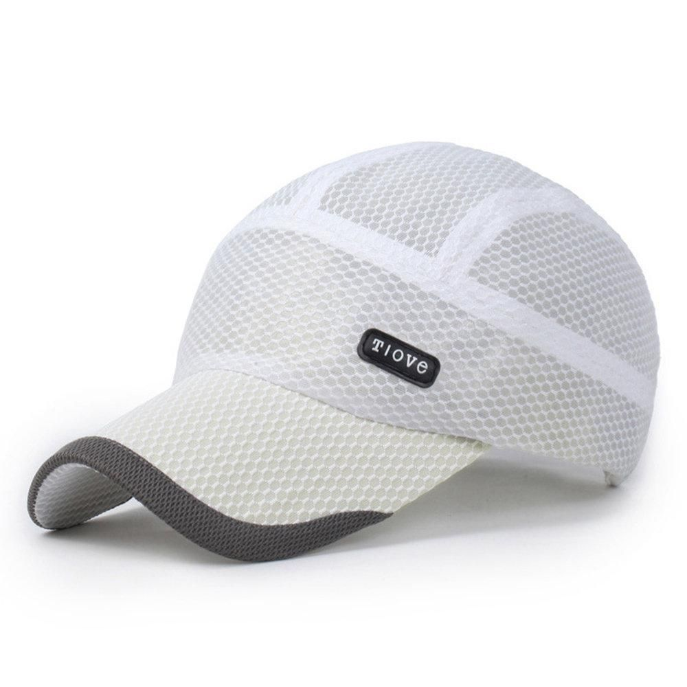 Quick Dry Sports Hat Men Outdoor Baseball Cap Summer Breathable Casual Hats