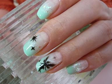 Tinkerbell nail hair and nails pinterest tinkerbell disney tinkerbell nail prinsesfo Images