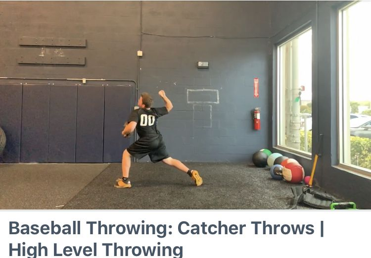 Baseball Throwing Catcher Throws High Level Throwing Pick Up A Copy Of The Catchers Edition On Highlevelthrowing Com Baseb Baseball Catcher High Level