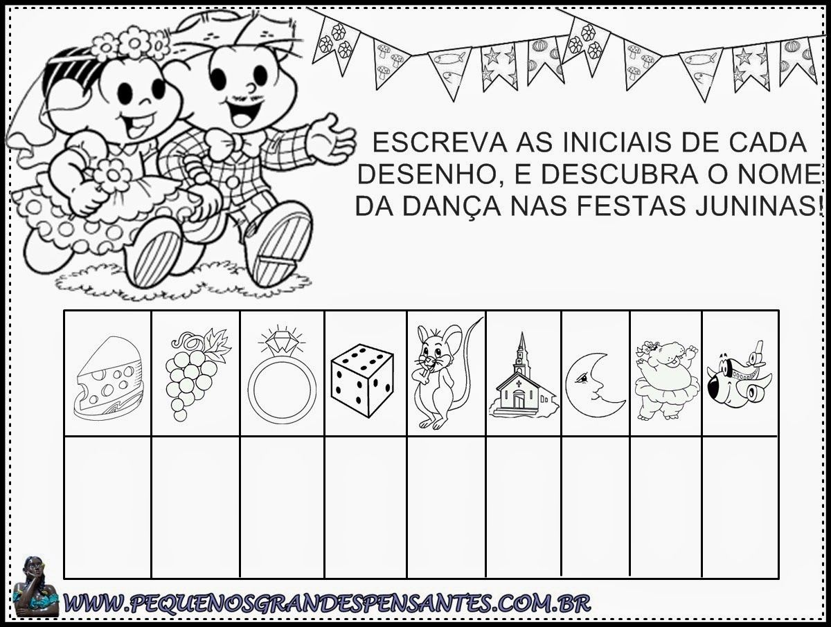 Atividade Festa Junina na Educação Infantil | FESTA JUNINA ...