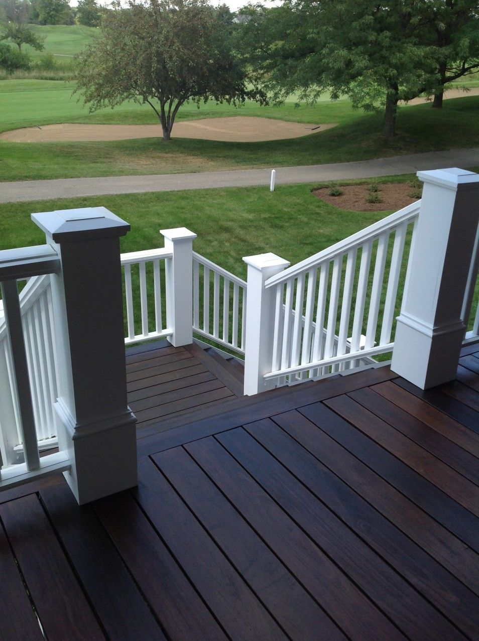 Simple Backyard Landscaping In Cool Deck Ideas At Modern