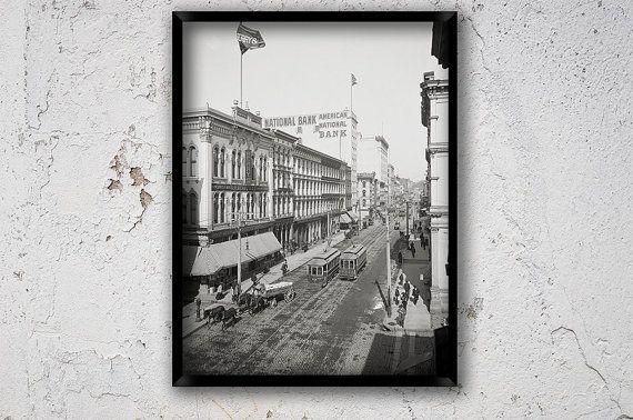 Richmond virginia year 1905 main street richmond by chromatone