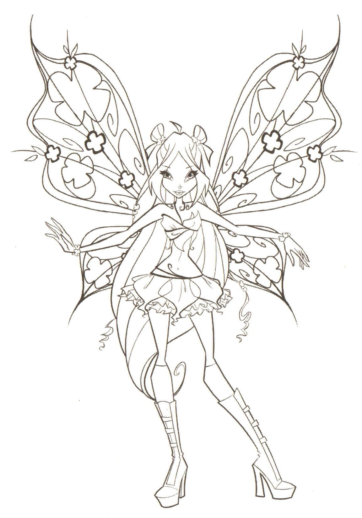 Kleurplaten Winx Club Believix.Winx Club Coloring Pages Google Search Coloring People