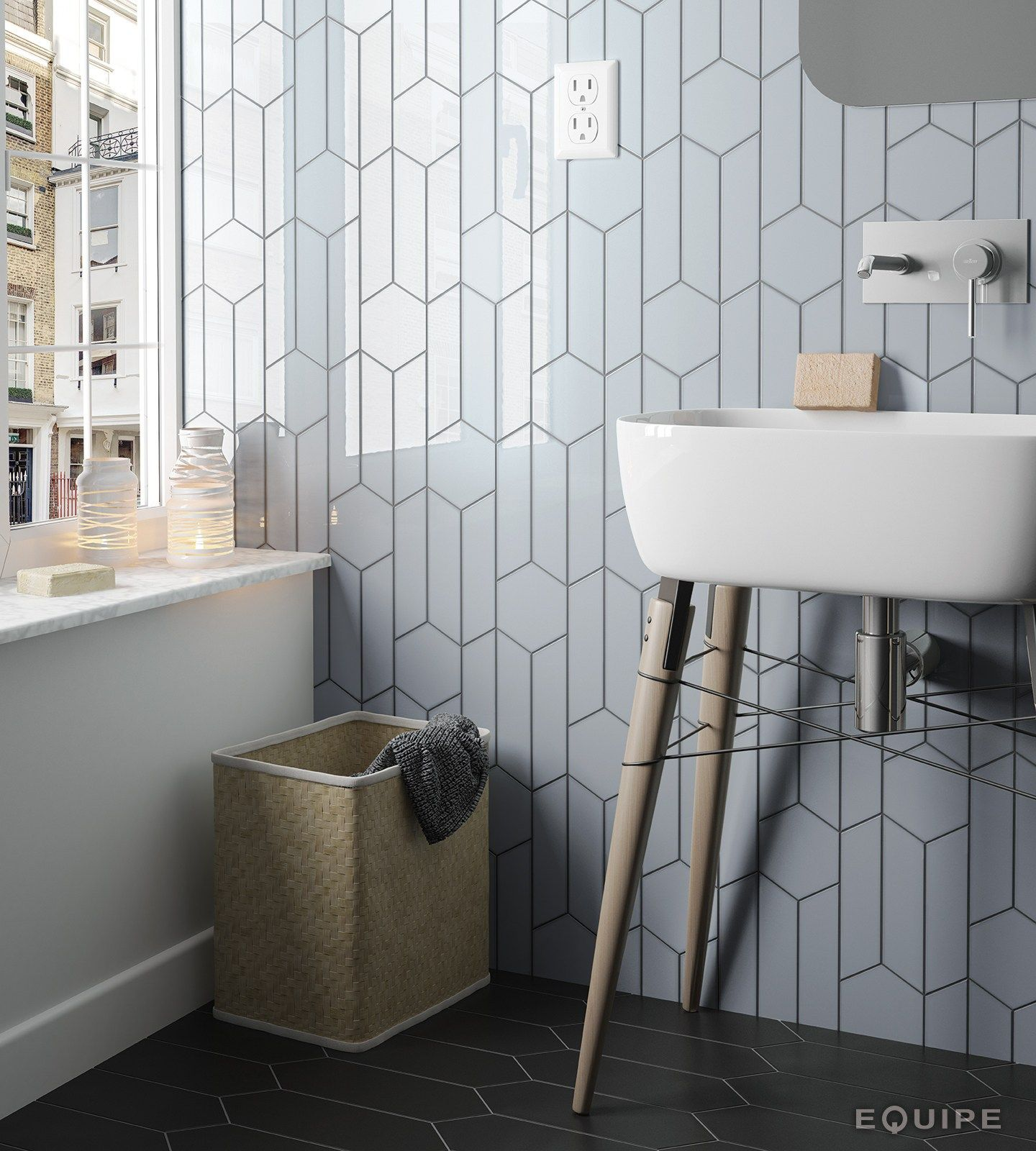 Chevron Wall Wall Tiles By Equipe Ceramicas Chevron Bathroom Chevron Wall Bathroom Wall Tile