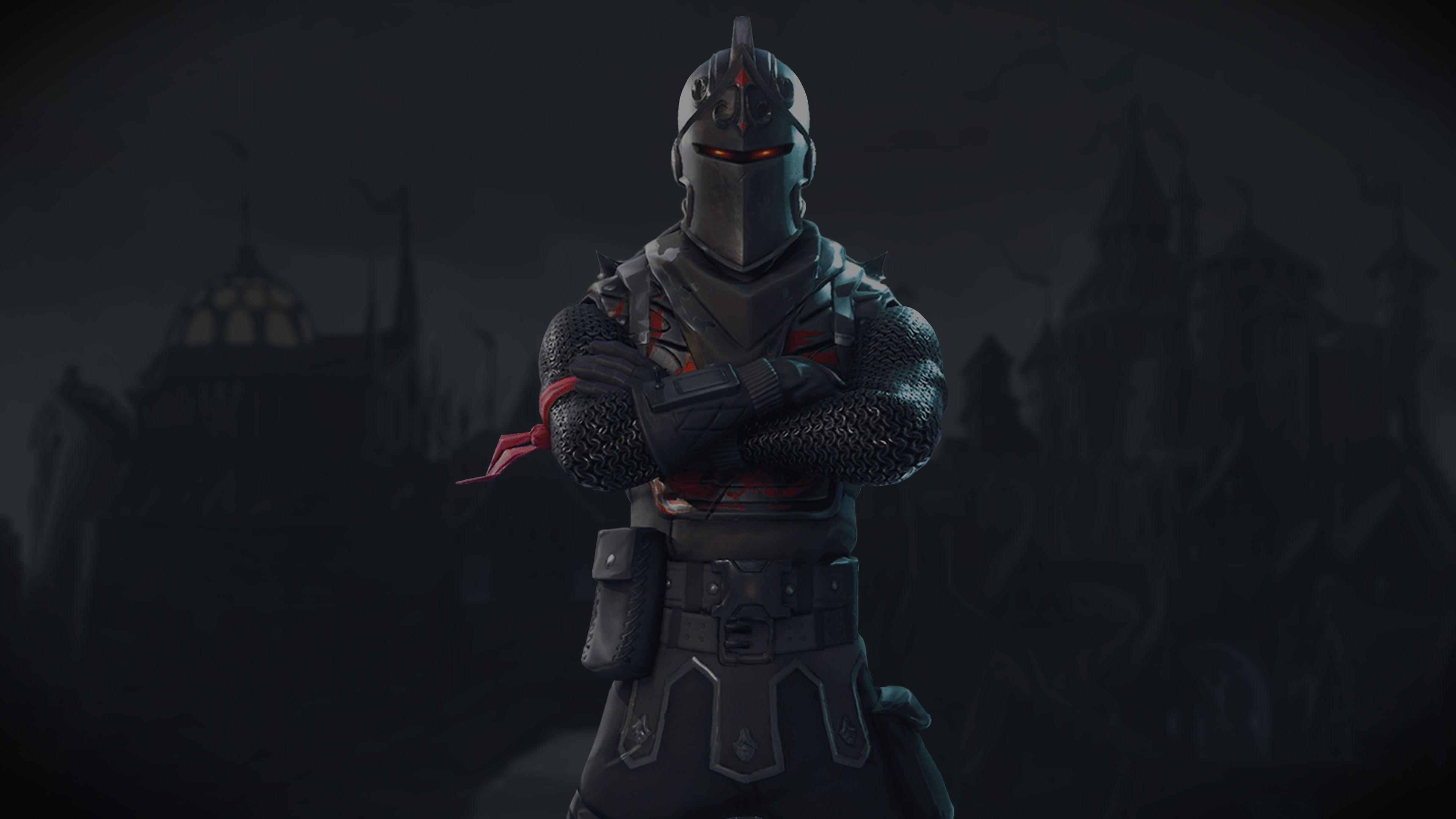 Black Knight Fortnite Battle Royale Video Game 3840x2160