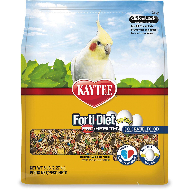 Kaytee Forti Diet Pro Health Egg Cite Cockatiel Food 5 Lbs Petco Cockatiel Fermentation Products Corn Gluten Meal