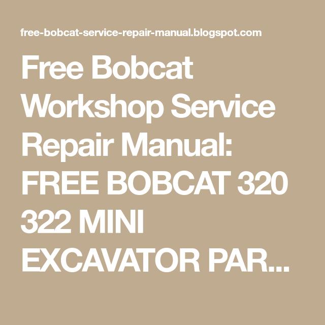 Pin on Bobcat t320