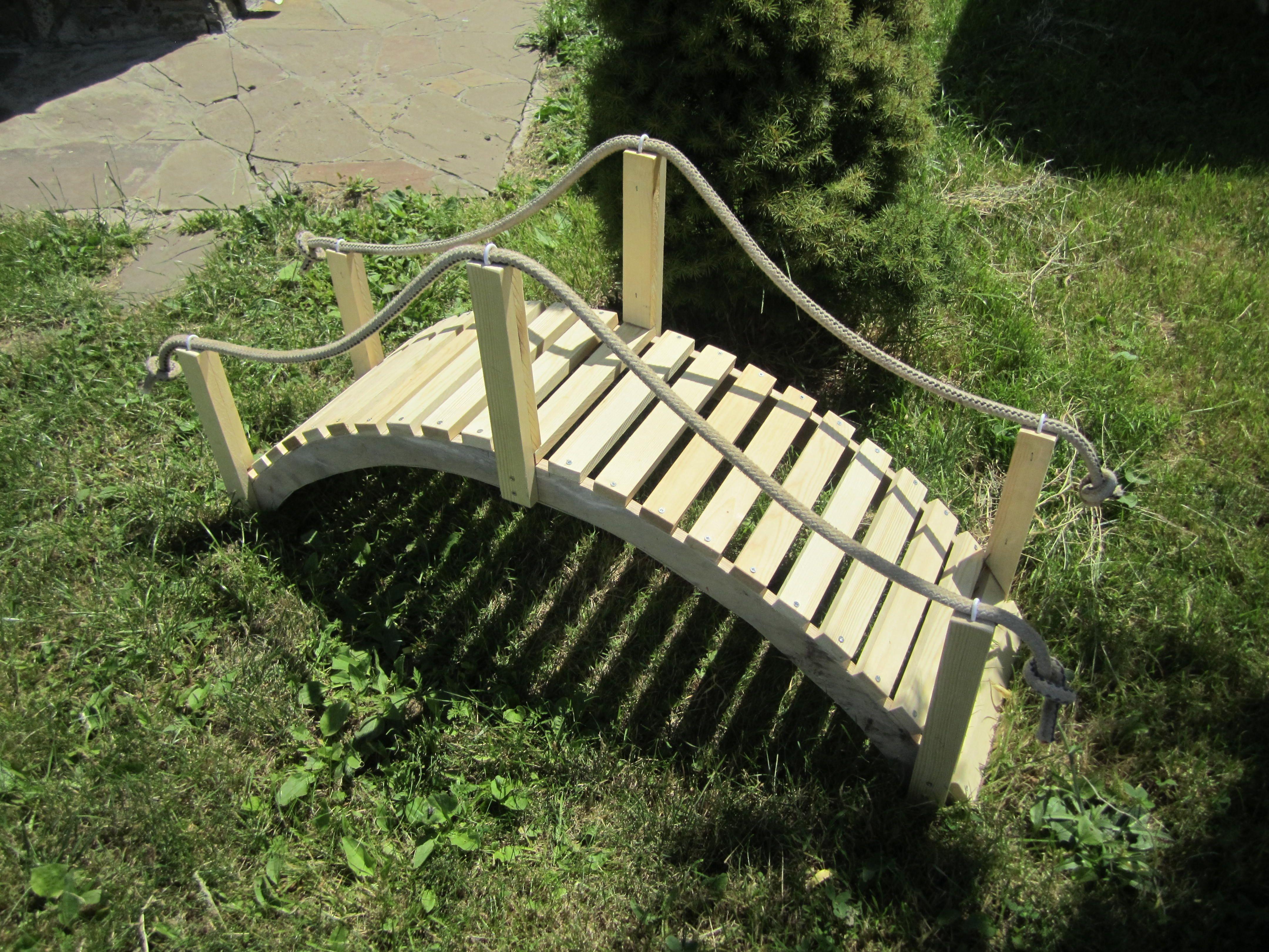 Dekorative Brücke Bauanleitung zum selber bauen | Best of 1-2-do ...