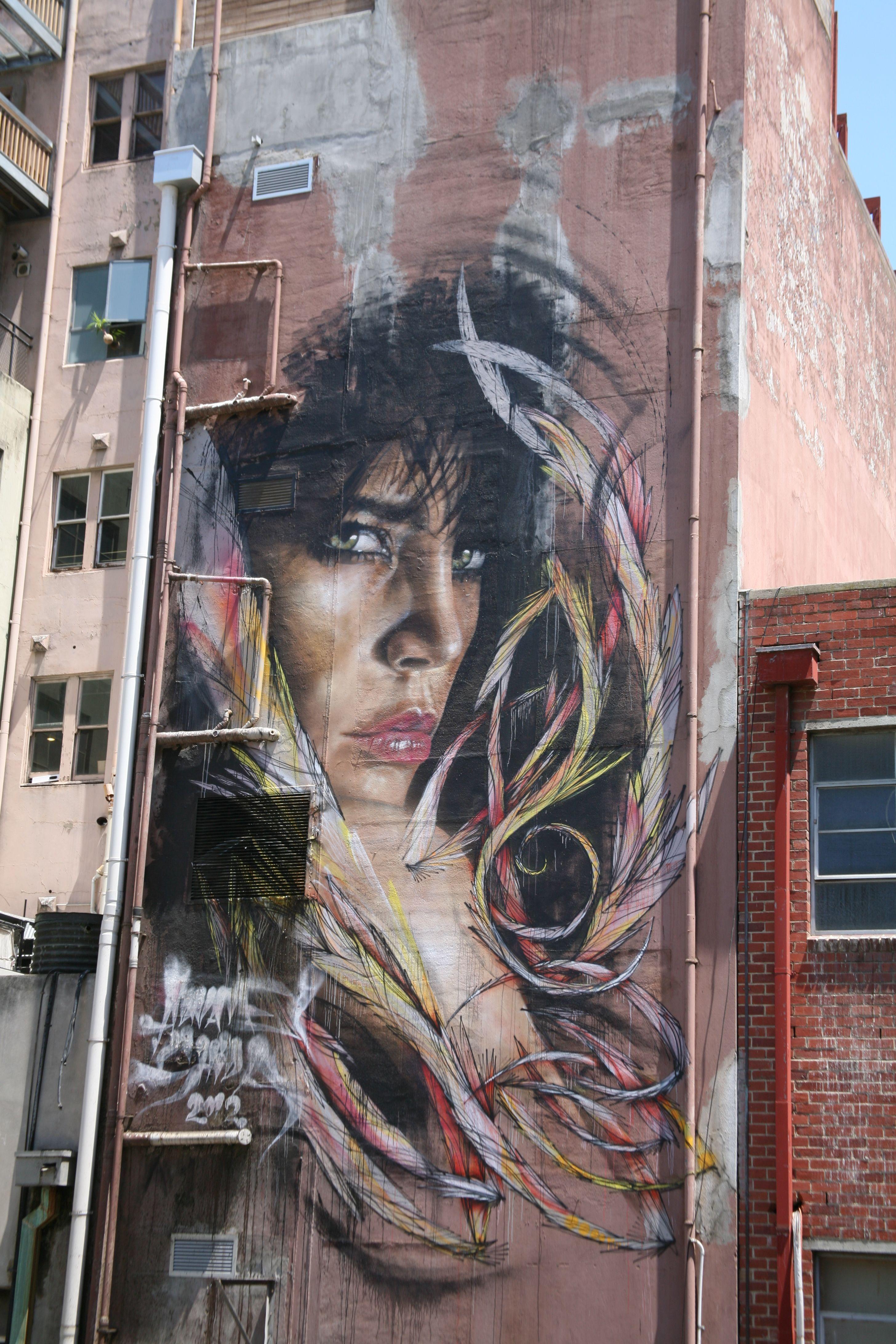 Laneways of Melbourne. Street art, 3d street art, Art
