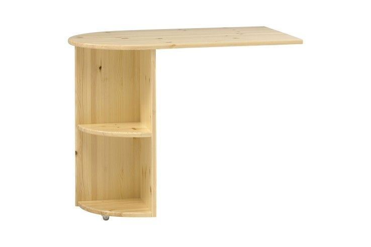#Kids #BedroomFurniture - Natural pine pull out #desk for mid-sleeper