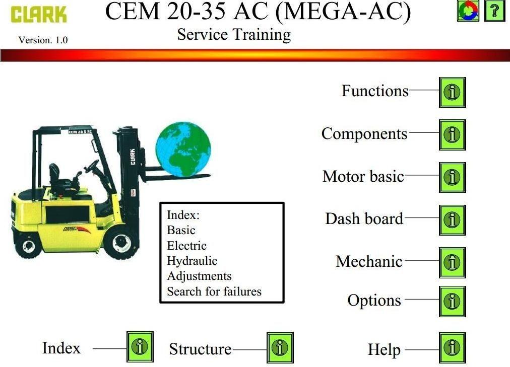 clark electric forklift truck cem 20 ac, cem 25 ac, cem 30 ac, cem tcm wiring-diagram clark electric forklift truck cem 20 ac, cem 25 ac, cem 30 ac, cem 35 ac workshop service manual