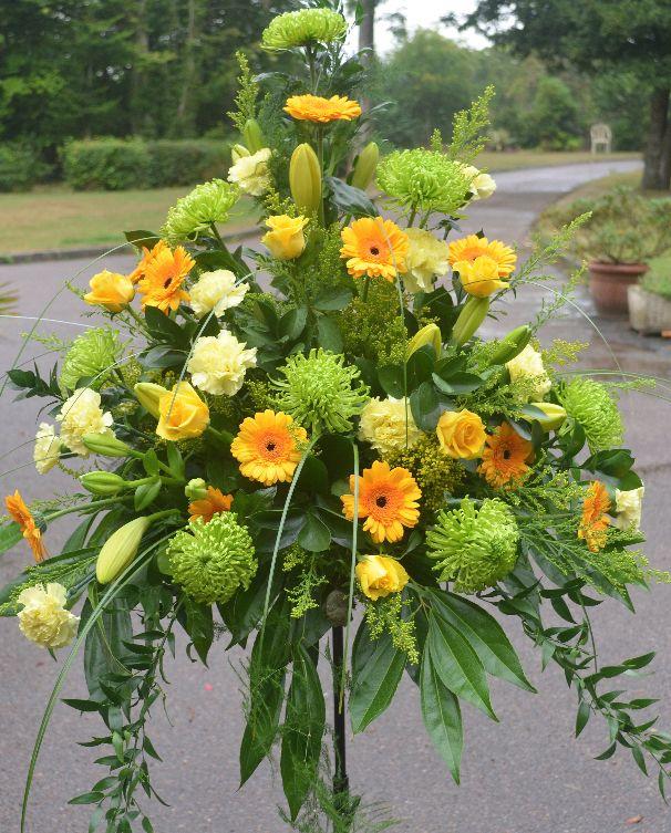 Easter Flowers Wedding: Wedding Flowers Pedestal Arrangements