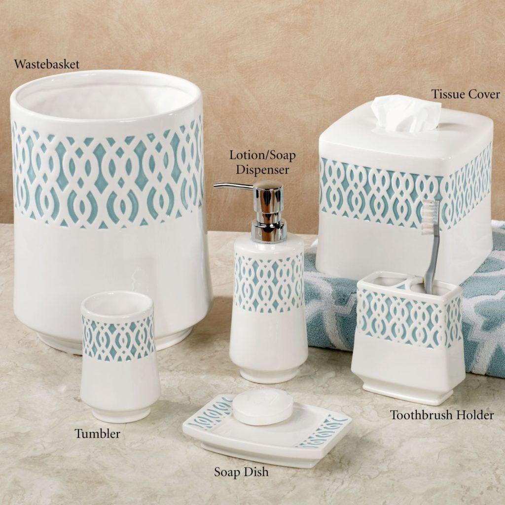 Navy Blue Ceramic Bathroom Accessories