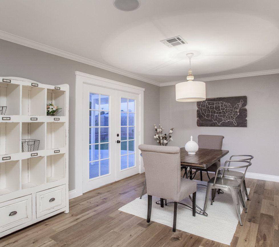 Dunn edwards roma haze myrafterhouse pinterest house for Grey interior paint schemes