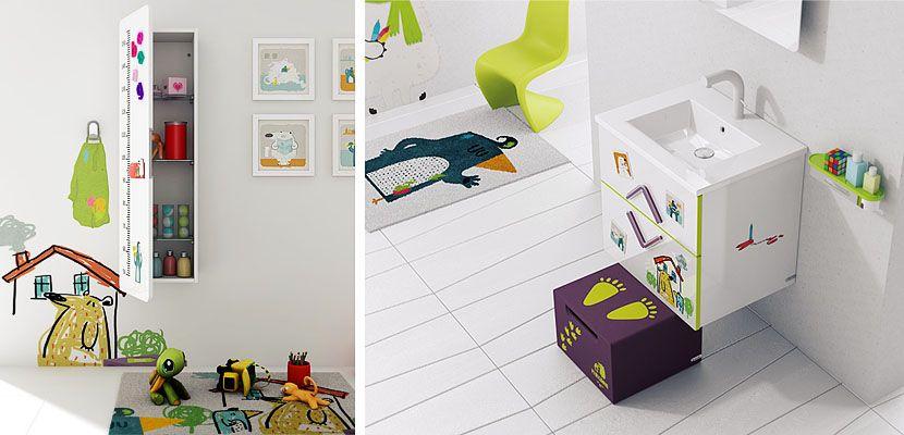 Cuartos de baño diseñados para niños | Cuarto de baño, Infantiles y Baño
