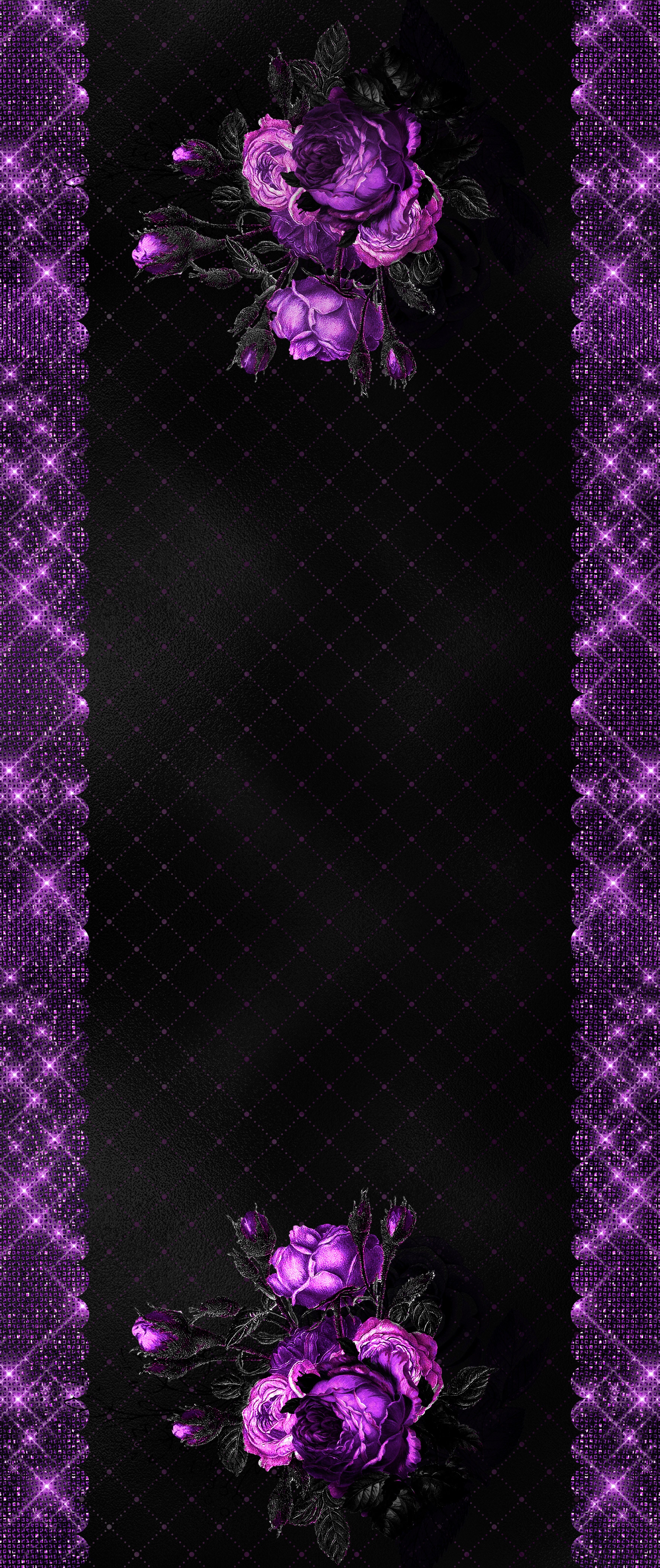 Aesthetic Black And Purple Hd Wallpaper Android Black And Purple Wallpaper Purple Wallpaper Purple Wallpaper Hd