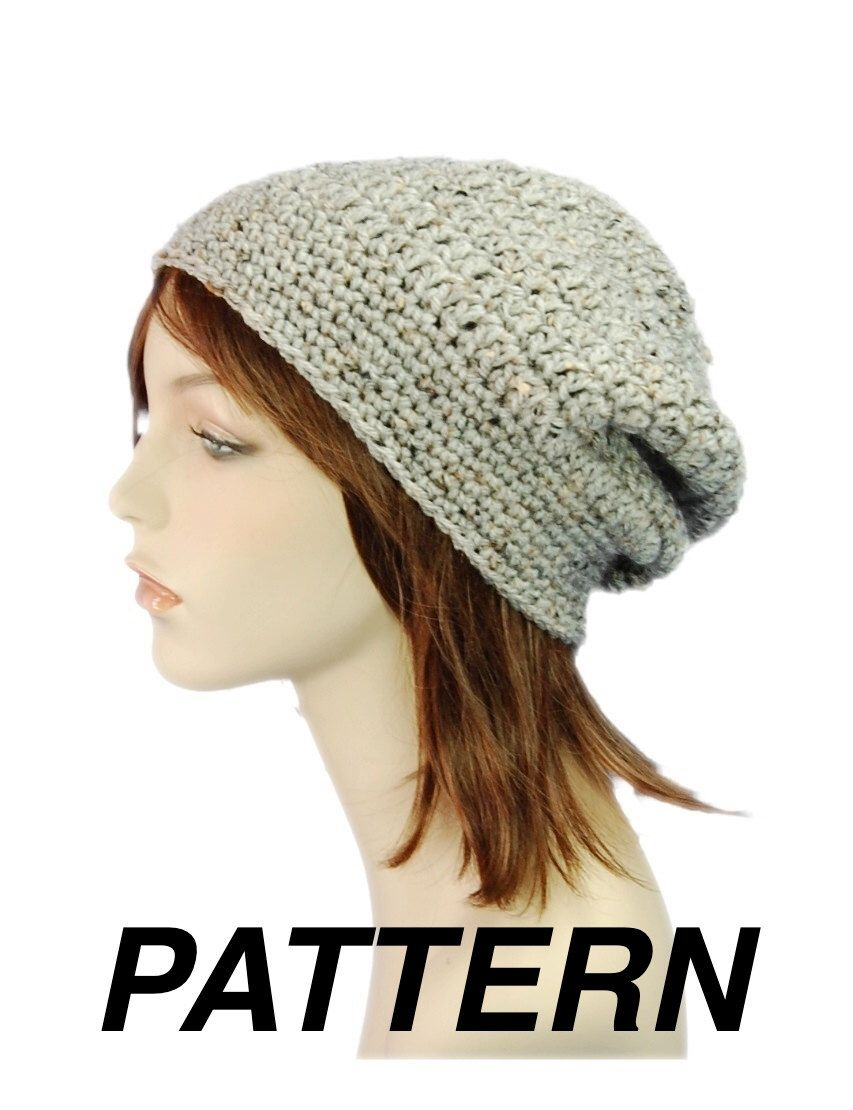 Enchanting Crochet Slouchy Beret Pattern Elaboration - Sewing ...